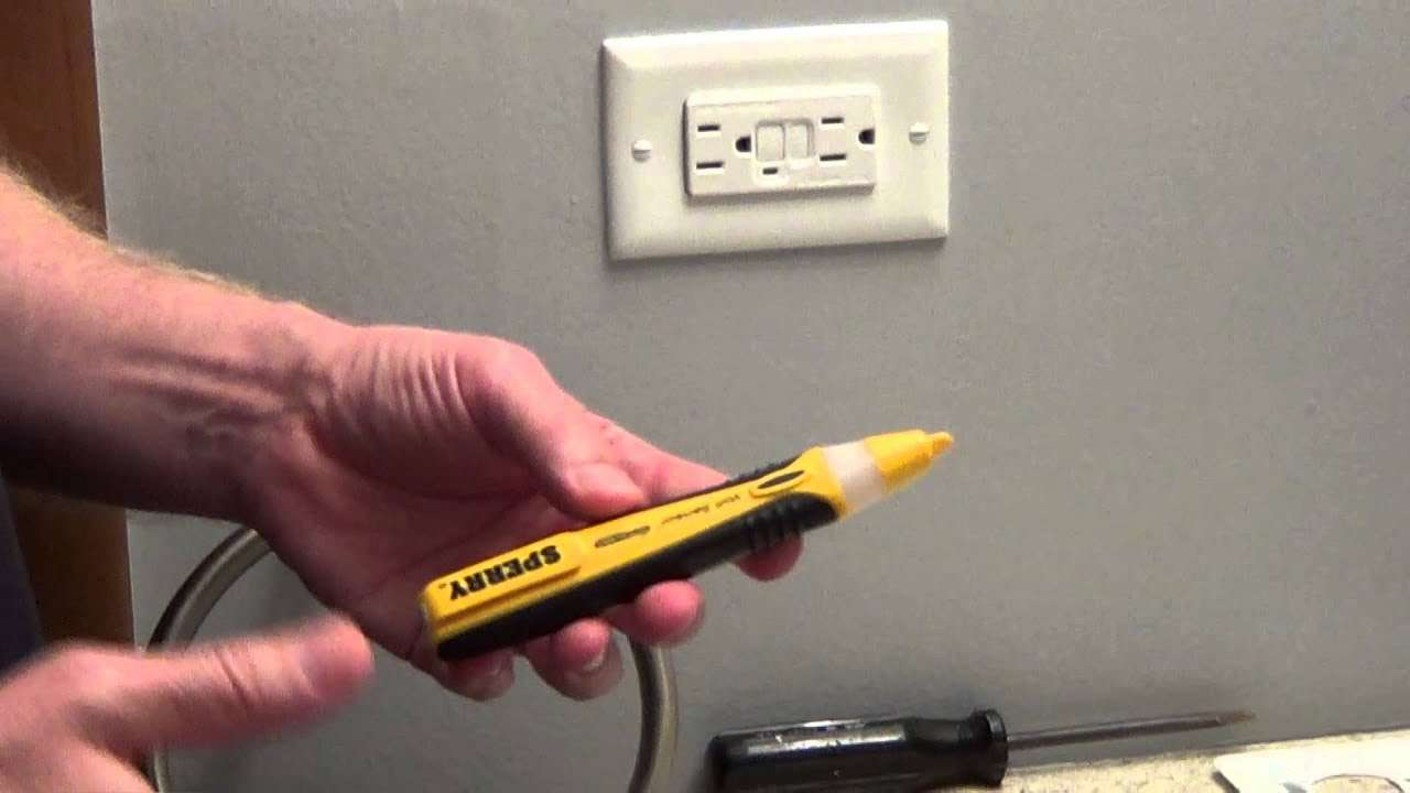 electrical testing of circuit